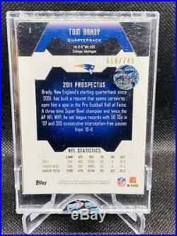 2011-12 Tom Brady eTopps #1 610/749 New England Patriots Factory Sealed RARE