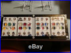 2015 NFL NT Treasure Chest 3/10 used 24 jersey patch booklet Brady Manning Favre