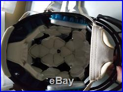 2016 Baltimore Ravens Game Worn Lawrence Guy Used Helmet New England Patriots