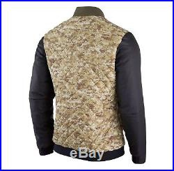 06d300b70 2017 Nike NFL Salute to Service Mens Reversible Bomber Jacket Limited Camo  STS