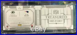 2018 National Treasures TOM BRADY VINCE LOMBARDI TREASURED HISTORY AUTO #1/1