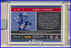 2019 Jarrett Stidham Panini One NFL Shield Logo 100th Anniversay RPA Auto 1/1
