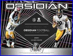 2019 Panini Obsidian Football Hobby Box (1 Pack/7 Cards 4 Autos or Mems)