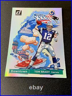 2020 Donruss Downtown Super Bowl TOM BRADY SSP Patriots Bucs Football Card