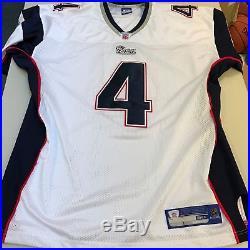 Adam Vinatieri Signed New England Patriots Reebok Game Model Jersey JSA COA