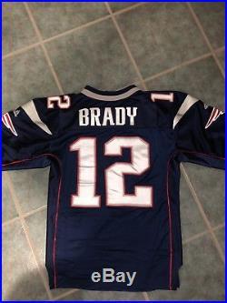 Authentic New England Patriots Adidas Tom Brady Jersey Size 48 Super Bowl XXXVI