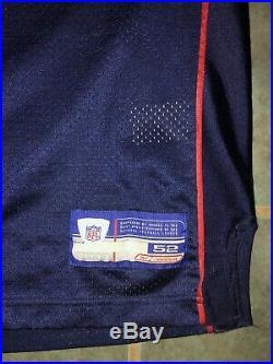 Authentic New England Patriots Rodney Harrison Jersey Sz 52 Superbowl 38 XXXVIII