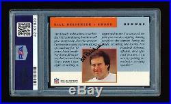 Bill Belichick 1991 Proline Portrait Autograph Auto Psa/dna New England Patriots