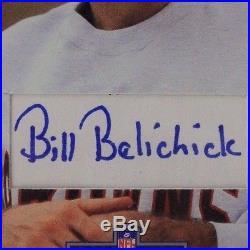 Bill Belichick New England Patriots Coach Cut Autograph 1991 Pro Line Card BGS