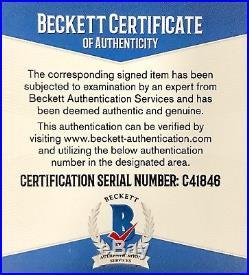 Bill Belichick New England Patriots Signed Full Size Helmet Beckett BAS