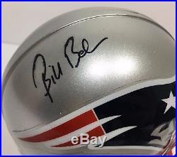 Bill Belichick Signed Autographed New England Patriots Football Helmet Mini Jsa