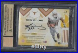 Charles Woodson Ricky Williams 2018 Passing The Torch Auto /5 Bgs 9.5 10 Pop 1/1
