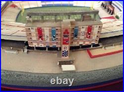 Danbury Mint New England Patriots Foxboro Stadium Come's in the Original Box