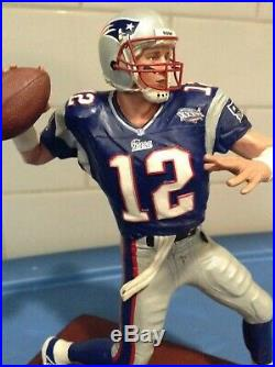 Danbury Mint New England Patriots Tom Brady /// Brand New & Undisplayed