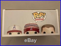 Funko Pop Tom Brady Rob Gronkowski Julian Edelman New England Patriots 3 Pack