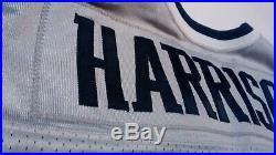 Game worn new england patriots rodney harrison football jersey