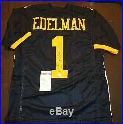 JULIAN EDELMAN Autographed New England Patriots Kent State Jersey JSA COA