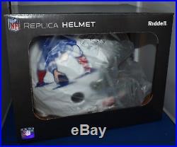 John Hannah Autographed Custom F/s Replica Helmet New England Patriots Hof Jsa
