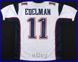 Julian Edelman Signed Jersey White Beckett BAS COA