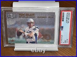 LOW POP FLEER METAL ROOKIE Tom Brady 2000 PSA 7 #267 RC Regrade 8 bgs 9