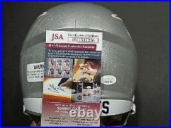 Mac Jones New England Patriots Autographed Signed F/S Helmet Rep JSA COA
