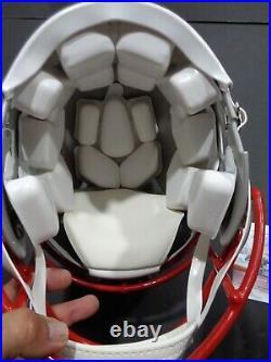 Mac Jones New England Patriots Autographed Signed F/S Helmet Speed JSA COA