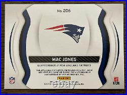 Mac Jones RC Auto 2021 Certified Freshman Fabric Gold Rookie RPA Jersey /15