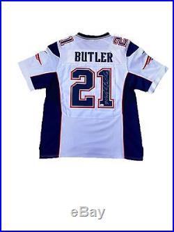 Malcolm Butler New England Patriots (Sb XLIX) Signed Jersey Jsa