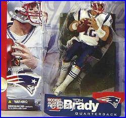 McFarlane Sports NFL Football Series 5 New England Patriots QB Tom Brady Figure