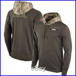 NEW ENGLAND PATRIOTS Salute to Service Hoodie 2017 Nike NFL STS Mens L LARGE