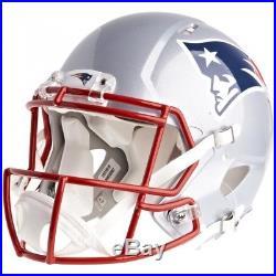 NFL Football Full Size Speed Helm NEW ENGLAND PATRIOTS Authentic Footballhelm