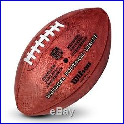 NFL Football The DUKE New England Patriots Logo Wilson offizieller Spielball