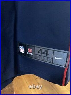 NKeal Harry New England Patriots Nike Vapor Elite Home Blue Jersey 44 BNWT $325