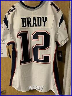 NWT Tom Brady Authentic Super Bowl LIII 53 Vapor Elite Jersey NFL Nike Patriots