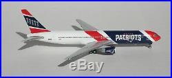 New England Patriots Boeing 767-300ER N36NE Diecast 1/400 NFL Jet Model Airplane