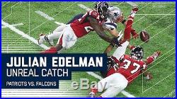 New England Patriots EDELMAN Trikot Autogramm Jersey NFL Football signed COA Rar