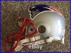 New England Patriots Full Size Riddell Authentic Proline Football Helmet NFL