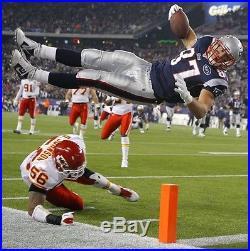 New England Patriots GRONKOWSKI Trikot Autogramm Jersey NFL Football COA Brady