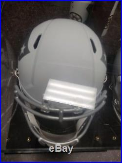 New England Patriots Martellus Bennett Signed Full Size Helmet JSA