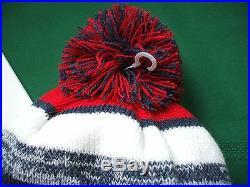 New England Patriots New Era knit pom hat beanie 2014 NFL OnField 100% AUTHENTIC