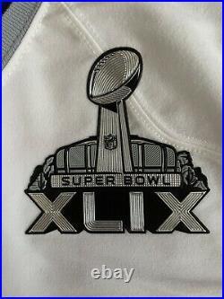 New England Patriots Super Bowl 47 XLIX Rob Gronkowski 87 Official Nike On Field