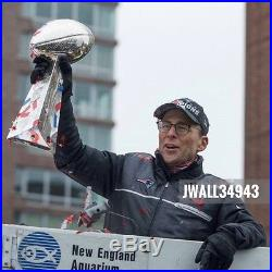 New England Patriots Super Bowl 51 LI Men's Media Nike Hybrid Full-Zip Jacket