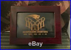 New England Patriots Super Bowl Champions 6 Ring Set and Box Replica Presale