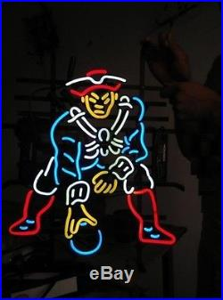 New England Patriots Super Bowl NFL Beer Neon Sign 20x20 Ship From USA