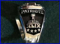 New England Patriots Super Bowl fans ring