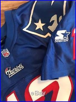 New England Patriots Tom Brady authentic Starter jersey size 46 Medium