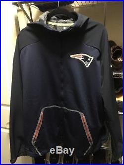 Nike NFL Championship Drive Ultimatum Therma-Sphere New England Patriots Jacket