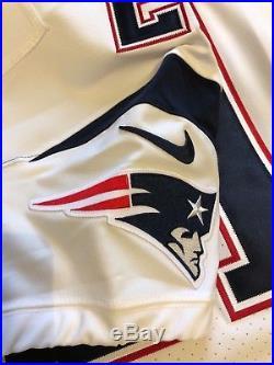Nike New England Patriots Malcolm Butler Vapor Untouchable Elite Jersey