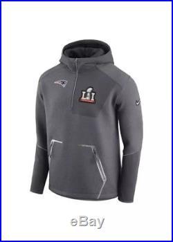 Nike New England Patriots Super Bowl LI 51 Media Day Jacket NWT Sz S