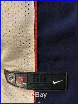 Nike New England Patriots Tom Brady Super Bowl LI 51 ELITE Jersey Size 56